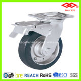 100mm Swivel Locking Heavy Duty Caster Wheel (P701-11F100X45S)
