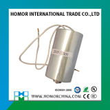 Aluminum Case AC Motor Capacitor Cbb65 for Washing Machine