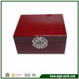 Special Design Contracted Style Red Wooden Storage Boxes