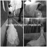 Vestidos Mermaid Backless Cathedral Train Wedding Dress Strapless Sweetheart Bridal Gowns
