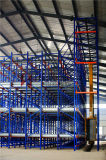 Automatic Warehouse Storage System with Shuttle and Crane