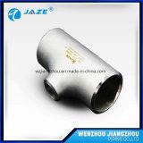 ASTM B16.9 Stainless Steel 304 316 Reducing Tee