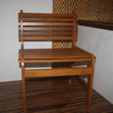 Modern Style Chair with Bamboo Strip