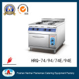 4 Burner Electric Hot Plate with Cabinet (round) (HRQ-94)