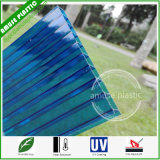 8mm Plastic Roof Hollow Twin-Wall Polycarbonate Sheet Sun Sheet