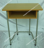 Wooden Single Student Desk and Chair School Classroom Furniture