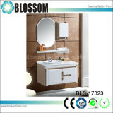 Different Color PVC Bathroom Vanity with Side Cabinet (BLS-17323)
