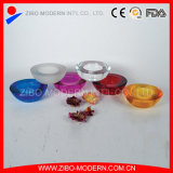 Wholesale Factory Price Colorful Thick Glass Candle Holder
