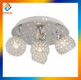 Modern Popular Iron Crystal Ceiling Light for Hotel Chandelier