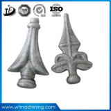 Ornamental Iron Casting Fence Head Parts From China