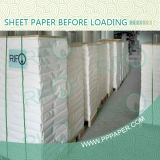 Water Resistant Polypropylene Synthetic Paper Roll Sheets for Flexible Printable