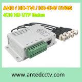 4 Channel Passive Ahd/Tvi/Cvi/Cvbs UTP HD Video Balun