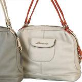 China Supplier Genuine Leather Handbags Tote Handbags (M10176)