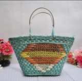Fashion Tote Straw Braids Bag (T840)