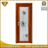 2016 High Quality Wooden Color Aluminum Alloy Glass Casement Door