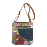 2017 New Ladies Fashionable Shoulder Handbags Bag with Printed Sunflowers