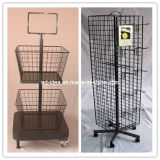 Mesh Display Rack / Wire Display Rack /Key Chain Display Rack/ Beverage Display Stand Rack-03