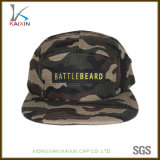 Custom Woven Label Patch Camo Camp Hat