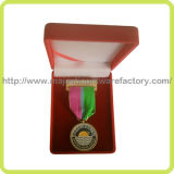 Customized Water Medallion & Ribbon & Box (Hz 1001 M015)