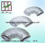HVAC Aluminium Non-Insulated Flexible Ducts (HH-A HH-B)