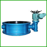Electric Actuated Butterfly Valve-Rubber Seal Butterfly Valve