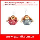 Christmas Decoration (ZY11S387-1-2) Christmas Stuffed Angel China Supply