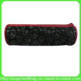 Lovely Black Pencil Bag with Zipper for School/Adult