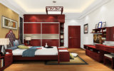 Bedroom Furniture Solid Wood Walk in Closet Wardrobe (zy-041)