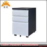 Office Furniture 3 Drawer Steel Mobile Pedestal Storage Filing Cabinet