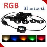 Car Accessories LED Rock Light Bluetooth RGB Controller LED Rock Light for ATV UTV Car Truck