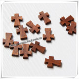 Beveled Wood Art Catholic Cross Item (IO-cw032)