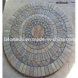 Granite Flame Anti-Slip Sidewalk Tactile Paving Stone for Walkway, Blind