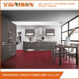 Affordable Price Wooden Furniture Solid Wood Kitchen Cabinet with Island