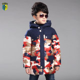 Camo Colorful Winter Down Jacket for Boy