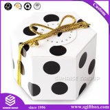 Custom Printing Spot Pattern Gift Hexagon Paper Packaging Box Luxury Wholesale