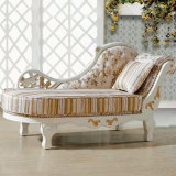 Wood Chaise Lounge for Living Room Furniture (90D)
