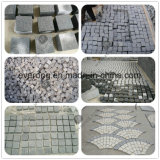 Driveway Granite Cubes Pave Cobble Stone in Grey/Black/Red/Yellow Color for Sale