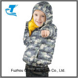 Boys Warm Feather Winter Outwear with Hood