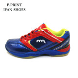 Blue Color Unisex Tennis Shoes Sport Design Comfortable Jumping