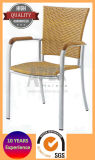 Outdoor Rattan Chair with Armrest Restaurant Chair (AS1017AR)