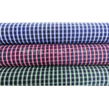 Cotton Yarn Dyed Woven Check Fabric with Carbon Peach (LZ5011)