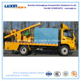 Multi-Functional Highway Guardrail Truck-Mounted Pile Driver