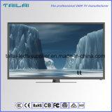 """Home Using 48 """" Black FHD DVB-T T2 LED TV Ultra Slim PVR Epg H. 264"""