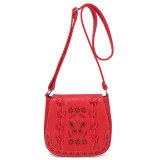 Elegant American European Classic Hollow Weave Laser Cut Butterfly Handbag Girl Women Bag