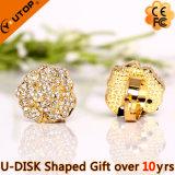 Hot Gift Finger Ring Diamond USB Flash Stick (YT-6271)