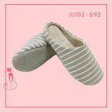 New Style Plush Warm Mock Suede Indoor Bedroom Slipper