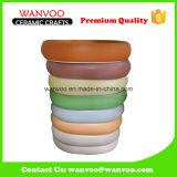 Newly Wholaslecolor Glazing Ceramic Soap Dish of Tray Shape