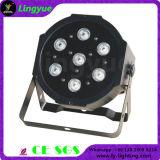 RGBW 4in1 Flat Mini Stage Disco Light PAR LED 7X12W