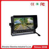 7 Inches Car Touch Screen Monitor with Quad Split Screen
