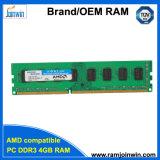 PC3-10600 4bits DDR3 4GB RAM for AMD